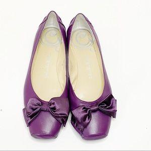 Gabriella Rocha Ballet Flats w/ Bow Detail